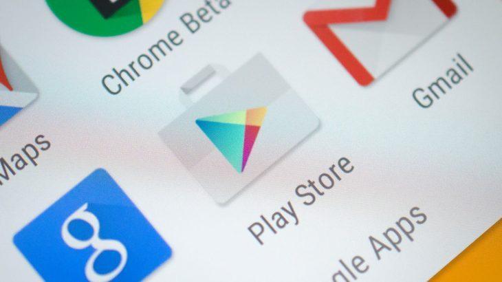 Largohen nga Google Play Store