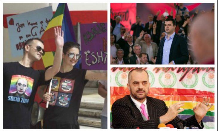 Edi Rama dhe Lulzim Basha ftohen të bëhen bashkë në paradën e LGBT-së