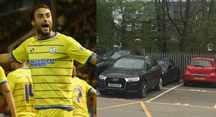 Tifozët e Sheffield tallen me veturën e futbollistit kosovar [foto]