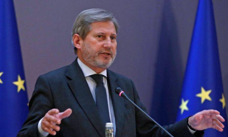 Hahn: Fokusohuni tek krijimi i një zone ekonomike të përbashkët