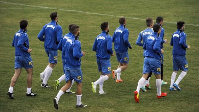 Kosova vazhdon përgatitjet para ndeshjes me Letoninë