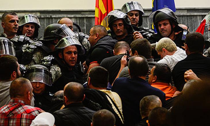 Arrestohen edhe disa të dyshuar për dhunën në Kuvendin e Maqedonisë