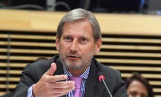 Hahn ndjen keqardhje për rënien e Qeverisë