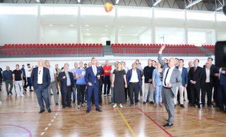 12 vjet pasi u nis të ndërtohej, përurohet palestra në Kamenicë