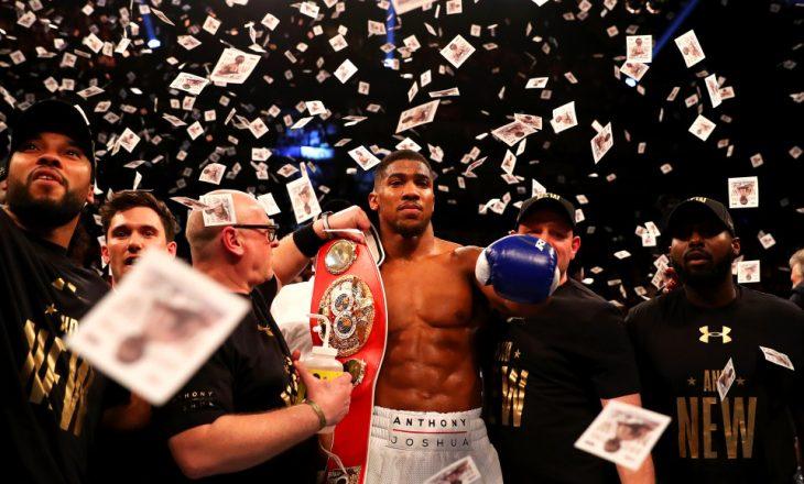 Pasi u bë kampion në boks, Anthony Joshua afër të bëhet kampion për nga pasuria