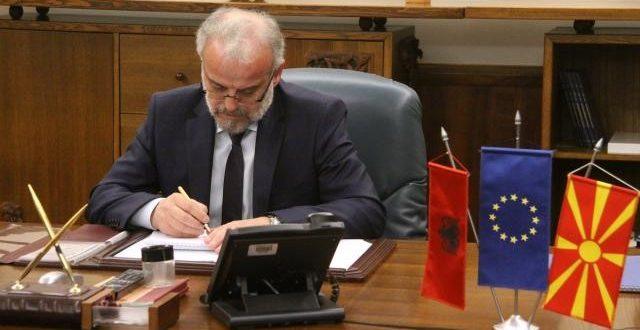 Talat Xhaferi do t'i shpallë zgjedhjet lokale