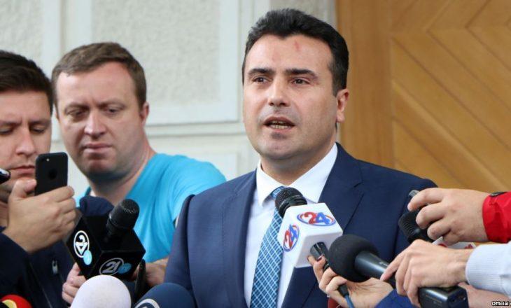 Zaev i përgjigjet Beogradit për tërheqjen e diplomatëve nga Shkupi