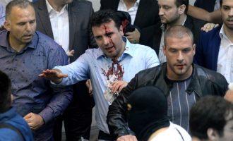 Zaev e dënon intonimin e himnit të Shqipërisë në Parlamentin e Maqedonisë