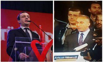 Kosova me dy kryeministra: Kurti dhe Haradinaj prezantohen si drejtues të Qeverisë