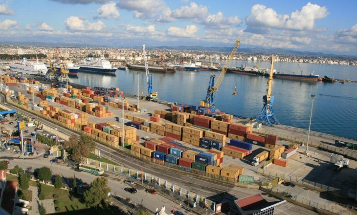 Bizneset e Kosovës rrisin ndjeshëm praninë në portin e Durrësit