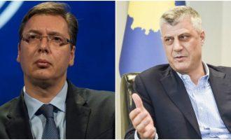 Vuçiq e quan qesharake intervistën e Thaçit në televizionin serb