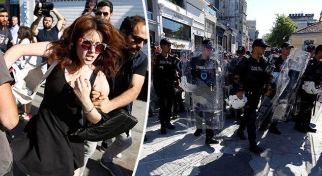 Policia turke shpërndan protestuesit në marshin e komunitetit LGBT
