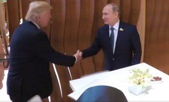 Trump takohet me Putinin në Hamburg