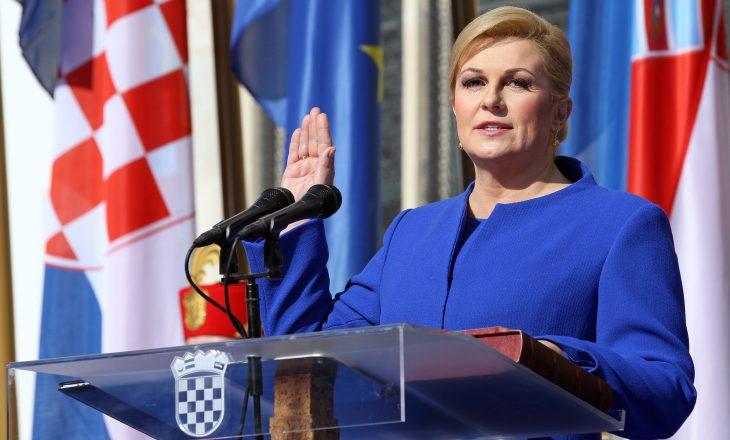 Presidentja kroate: Gjykimi i Mlladiçit një lehtësi për familjet e viktimave