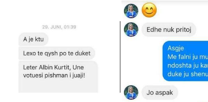 Ish-gazetarja pranon se i ndihmon njerëzve të shkruajnë kundër Albin Kurtit