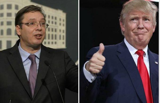 Vuçiq krahason vetën me Donald Trump, arsyeja është qesharake