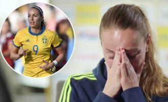 Futbollistja Asllani shpërthen në lot, krenare që do të luajë në kombëtaren suedeze