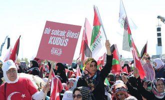 Tubim i madh për Jerusaelemin në Turqi