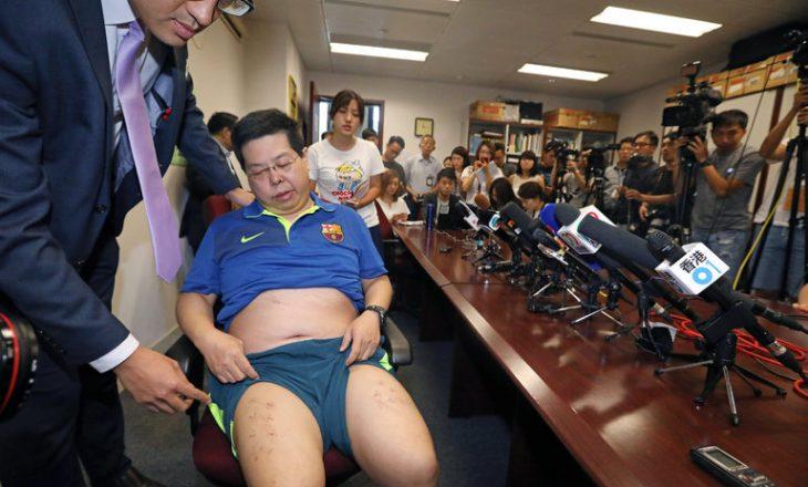 Për një foto të Messit, aktivisti rrëmbehet e rrahet nga agjentët kinezë