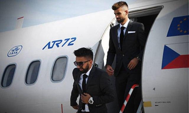 """Shkëndija arriti në Milano, gati për """"derbin"""" kuqezi"""