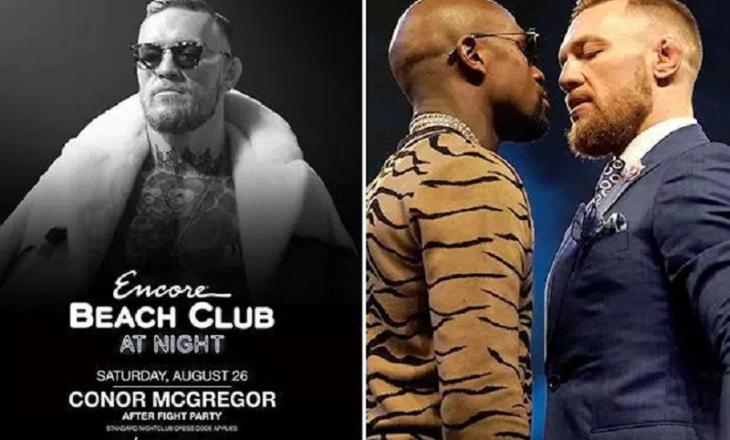McGregor përgatit festën për fitoren ndaj Mayweather
