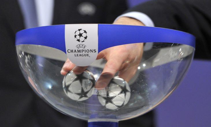 """Liga e Kampionëve, hidhet shorti i fazës """"play-off"""""""