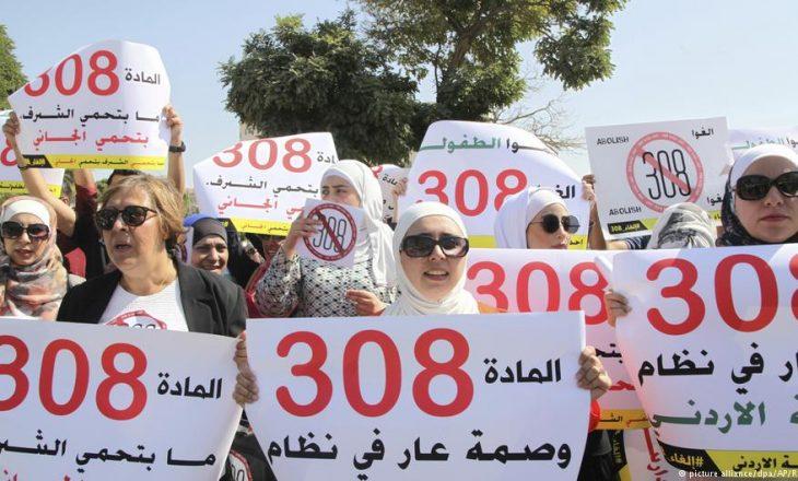 Gratë arabe luftojnë dhunën e mbrojtur nga ligji