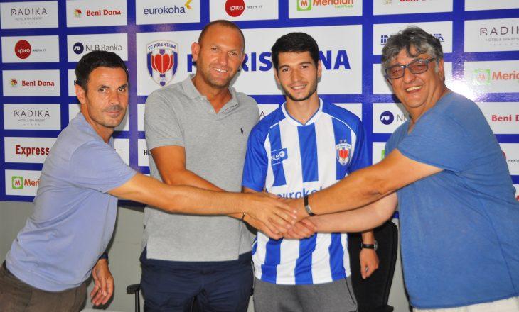 Ish-kapiteni i Kosovës nënshkruan me Prishtinën