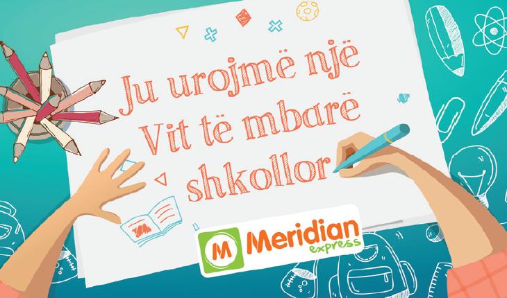 Meridian Express me ofertë të veçantë për materiale shkollore
