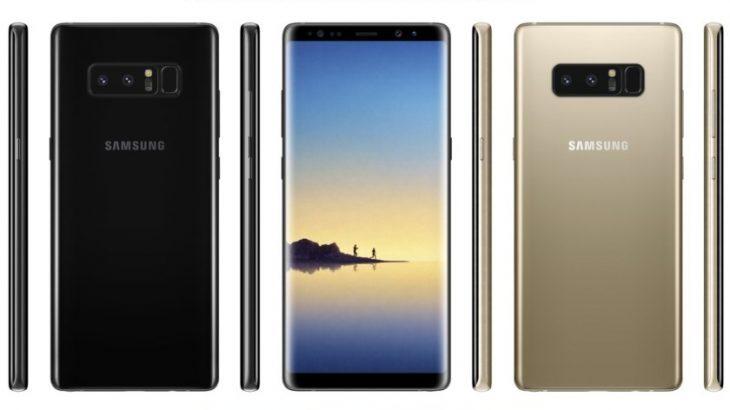 Samsung publikoi video reklamë të Galaxy Note 8-ës