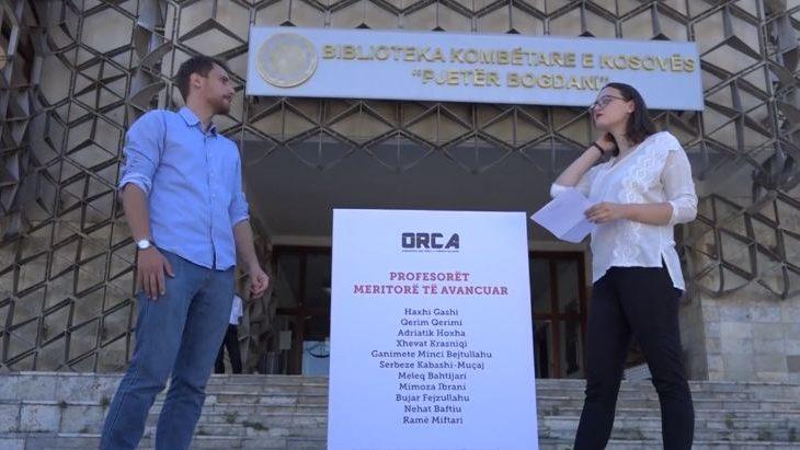 ORCA tregon emrat e profesorëve që merituan avancimet në UP