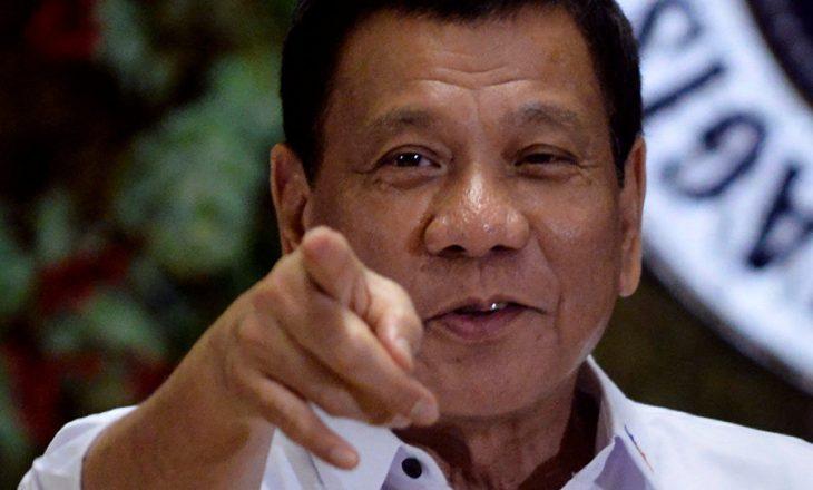 Presidenti i Filipineve paralajmëron bombardimin e xhamive