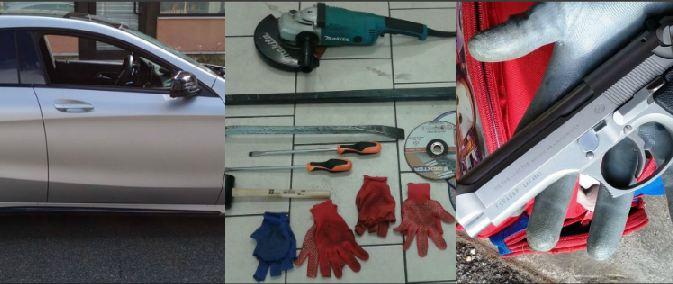 Vodhën nëpër shtëpi dhe një Mercedes AMG – si e arrestoi policia italiane bandën shqiptare