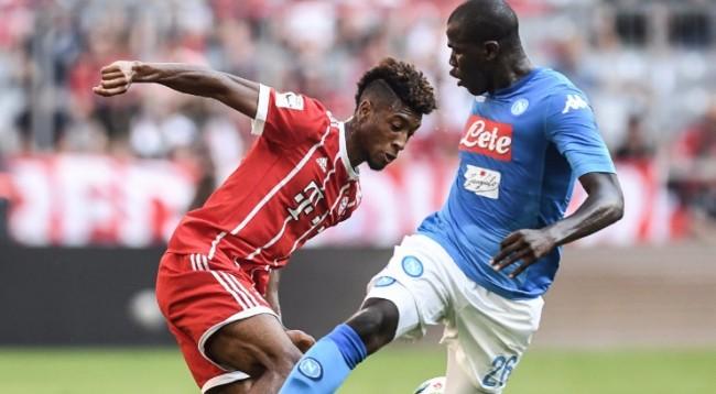 Humbje pas humbje, Bayern mposhtet edhe nga Napoli
