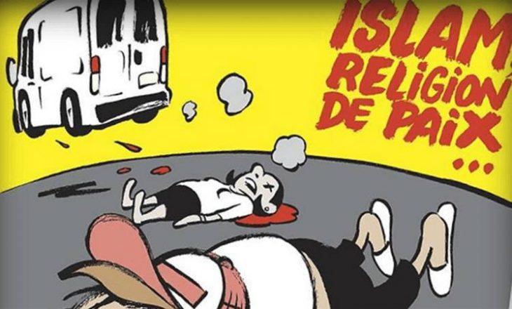 Charlie Hebdo, kopertinë kushtuar sulmit në Barcelonë