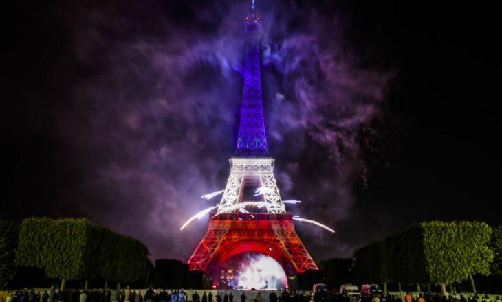 Hapen hetime antiterror për incidentin në Kullën Eiffel