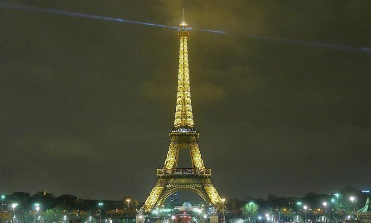 Dritat në Kullën Eiffel do të fiken deri më 10 tetor