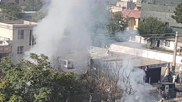 Nga eksplodimi në Kabul ka të vrarë dhe të plagosur