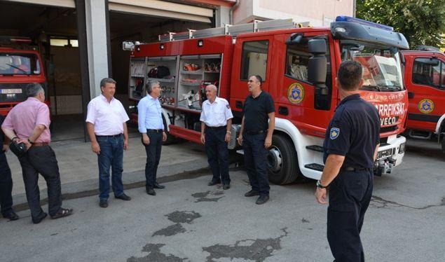 Bashkëpunimi mes zjarrfikësve shqiptar dhe serbë