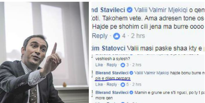"""Stavileci i """"lyp fer"""" një qytetari në Facebook"""