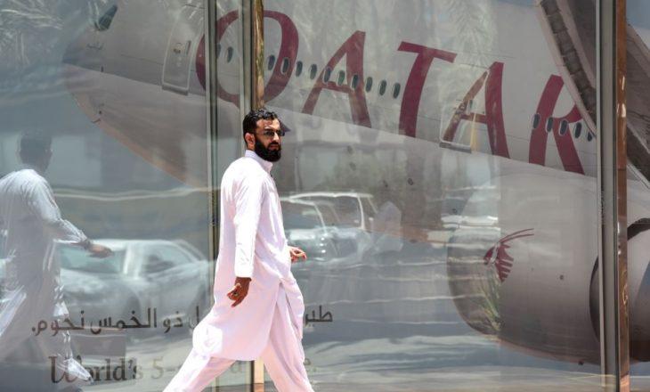Arabia Saudite hap kufirin me Katarin