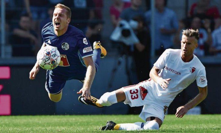 Nuk ftohet nga Shqipëria, por Lenjani zgjidhet futbollisti i ndeshjes në Zvicër