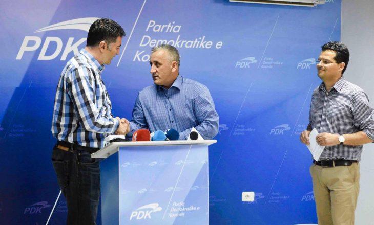 Konfirmohet sfiduesi i Shpend Ahmeti nga radhët e PDK-së në Prishtinë