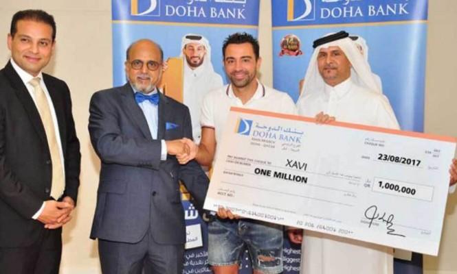Xavi Hernandez fiton lotarinë në Katar