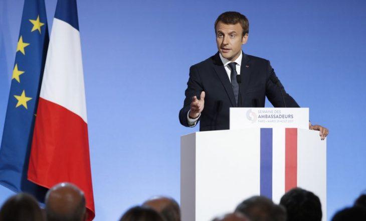Macron: Lufta ndaj Shtetit Islamik, prioritet