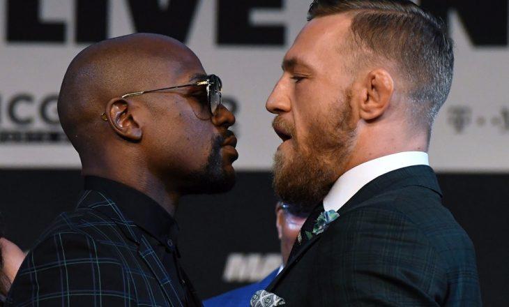 Floyd Mayweathe-Conor McGregor, boksierët bënë matjen zyrtare