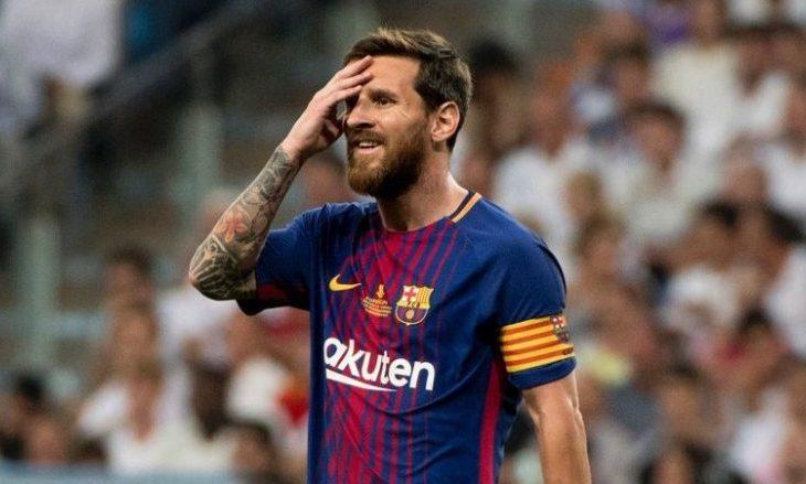 Messi bën një gjest të madh (Video)