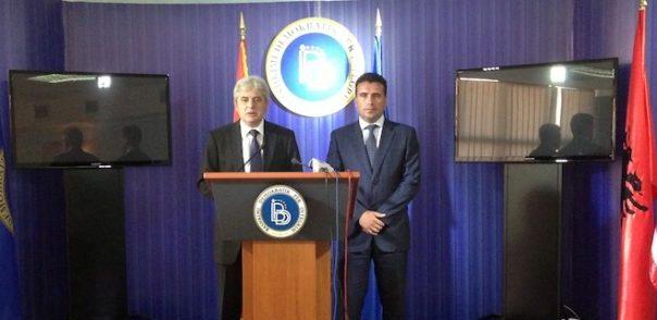 Ahmeti kërkon ndihmën e Zaevit për të fituar komunat shqiptare