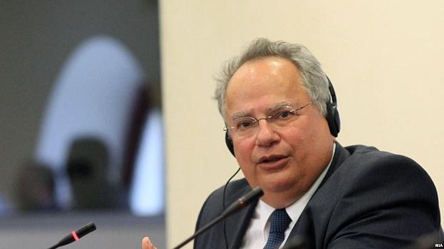 Ministri i Jashtëm grek viziton Maqedoninë