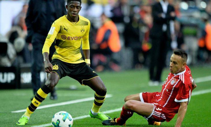 Dembélé nuk paraqitet në stërvitje, pranë largimit nga Dortmundi